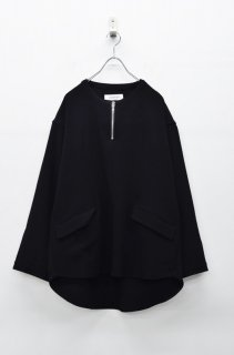 prasthana semidress smock - BLACK