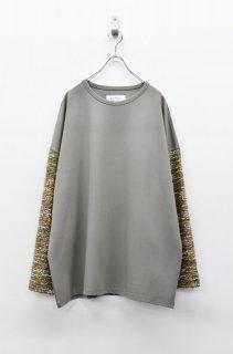 prasthana knit sleeve PO - GREIGE