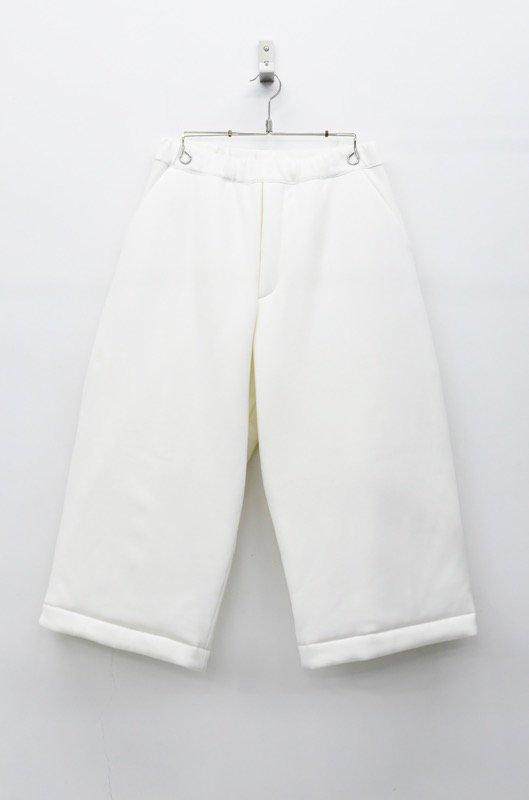 RIDDLEMMA フカフカパンツ - WALL WHITE