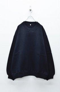 yoko sakamoto BIG SWEAT - BLACK