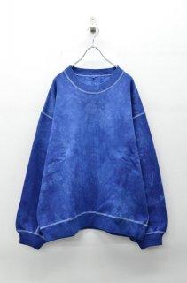 yoko sakamoto BIG SWEAT - 藍染