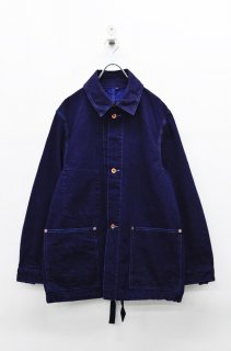 yoko sakamoto DENIM WORK JACKET - OVER DYE
