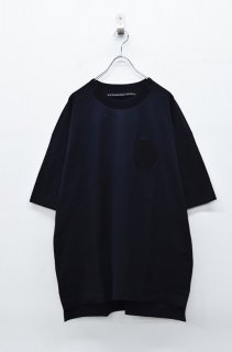 My Beautiful Landlet ベーシックステッチTEE - BLACK