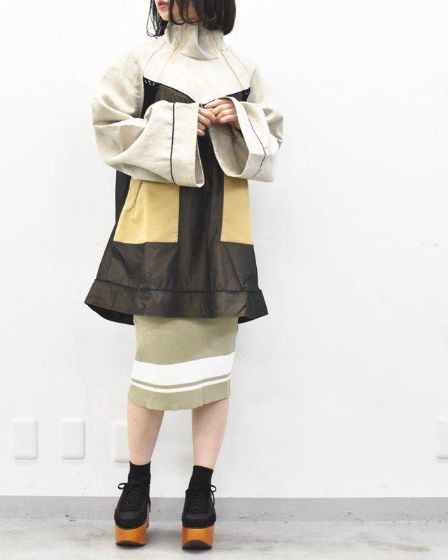 NON TOKYO ダブルジッププルオーバー - BEIGE