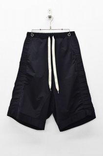 prasthana modulation jersey shorts - BLACK