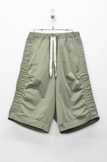 prasthana modulation jersey shorts - KHAKI(限定カラー)