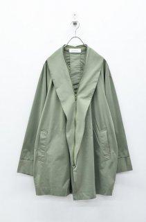 prasthana modulation jersey gown - KHAKI(限定カラー)