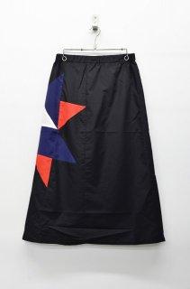 STOF アーミッシュキルトスカート - BLACK