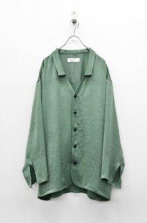 prasthana vintage satin shirts - KHAKI