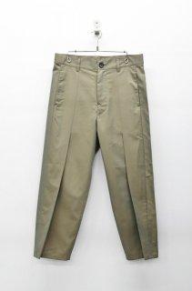 prasthana post-work trousers - KHAKI