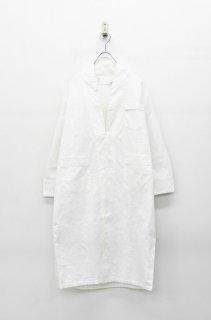 bedsidedrama メルティング刺繍ガウン - WHITE