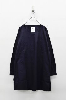 STOF 手刺繍モチーフシャツPO - BLACK