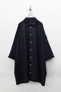 My Beautiful Landlet ビッグシャツドレス - BLACK