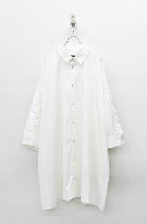 My Beautiful Landlet ビッグシャツドレス - WHITE