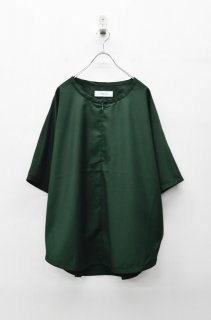 prasthana slick shirt - GREEN