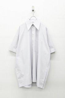 BALMUNG ベーシックビッグシャツ - 灰緑