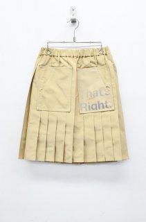 BALMUNG プリーツスカート - ベージュカーキ