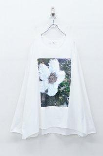 BALMUNG プリントビッグTシャツ 長袖 - 風景 WHITE