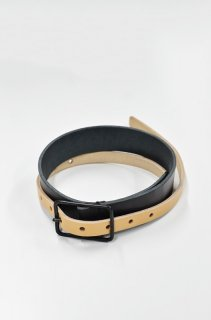VOAAOV leather thin belt