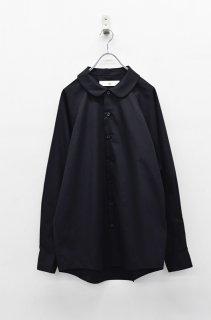 BALMUNG 丸襟シャツ - 黒