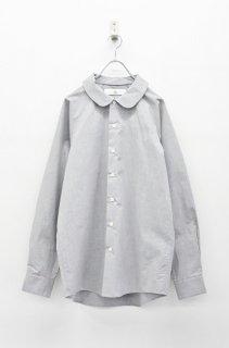 BALMUNG 丸襟シャツ - 灰