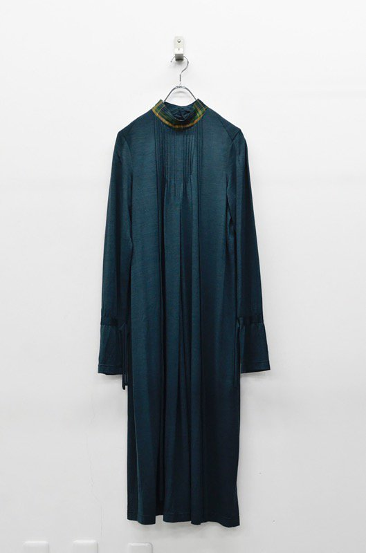 ohta green long dress