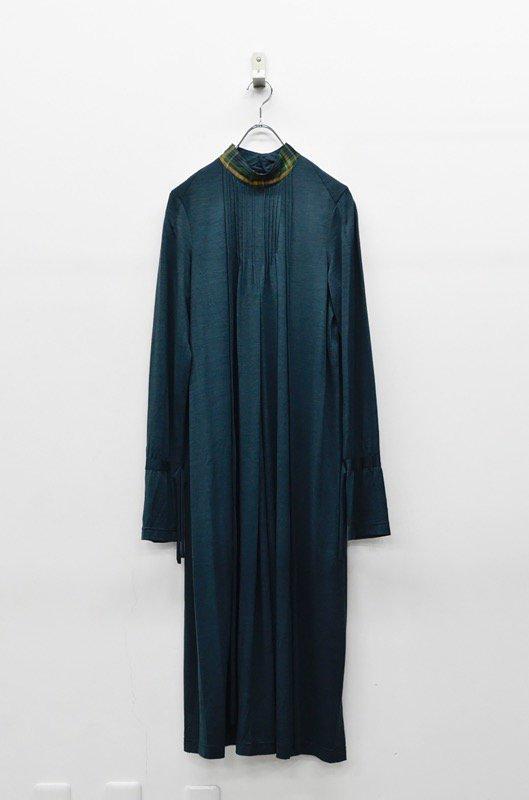 ohta green long dress