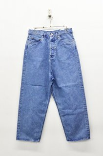 yoko sakamoto DENIM WIDE WORK PANTS - BREACH