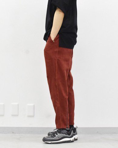 YANTOR Suede Jarsey Pant - RED