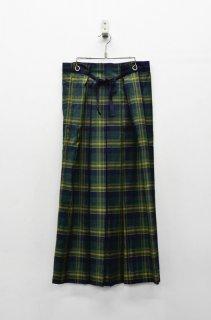 ohta check skirt