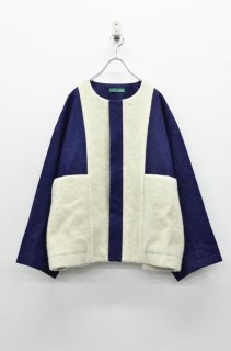 ohta denim wide jumper