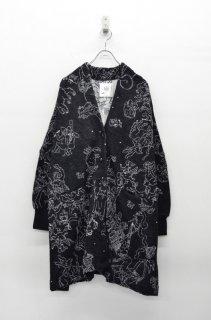 bedsidedrama 十二宮のBIGカーディガン - BLACK