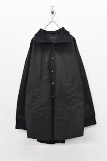 My Beautiful Landlet ウェザークロスワイドシャツ - BLACK