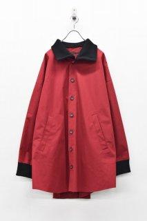 My Beautiful Landlet ウェザークロスワイドシャツ - RED