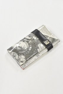 ANTI SYSTEM NEWS PAPER コインカードケース - 021