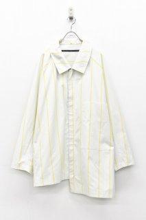 My Beautiful Landlet ポプリンビッグシャツ - YELLLOW