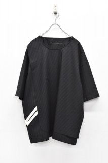 My Beautiful Landlet サマーウールビッグTEE - BLACK