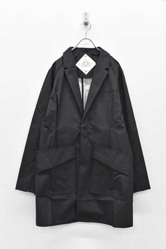 BALMUNG ボロロングジャケット - BLACK