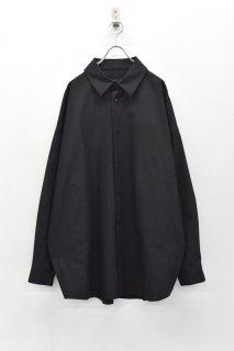 My Beautiful Landlet ホースクロスビッグシャツ - BLACK