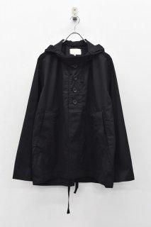 yoko sakamoto / OPEN SMOCK - BLACK