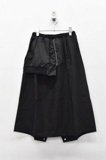 bedsidedrama 微睡ミリタリースカート - BLACK