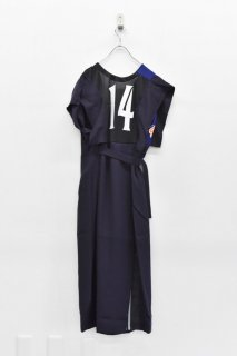 YEAH RIGHT!! / SHAKA ROBE OP - NAVY - C