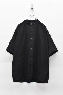 YANTOR / Amunzen Cotton Box Shirts - BLACK