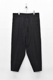 YANTOR / Amunzen Cotton Himo Pants - BLACK