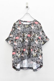 bedsidedrama / ワンダーランドTシャツ - BLACK