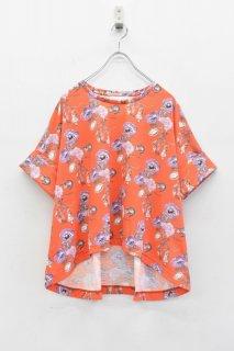 bedsidedrama / ワンダーランドTシャツ - RED