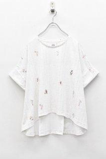 bedsidedrama / ワンダーランドTシャツ - WHITE