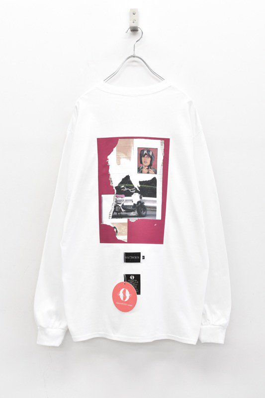 elephant TRIBAL fabrics / L-T (BIKE) - WHITE