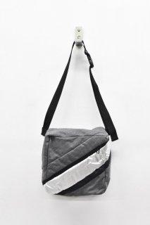 BALMUNG / ポケットバッグ - ストライプグレー