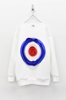 INFANONYMOUS / 3D Target Pullover - WHITE